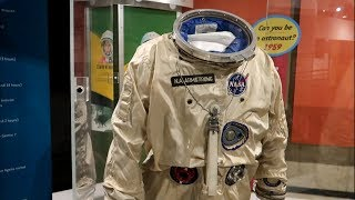 #800 NEIL ARMSTRONG's First Airplane and SPACE SUITS - Jordan The Lion Daily Travel Vlog (10/15/18)