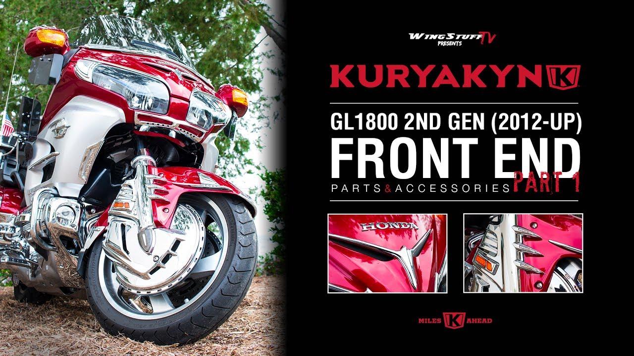 kuryakyn accessories   gl  newer honda goldwing front  wingstuffcom