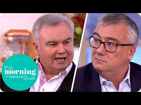 Eamonn Flips Out at Oxfam Fundraising Director Over Sex Scandal | This Morning