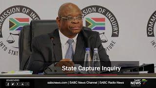 State Capture Inquiry, 15 October 2020