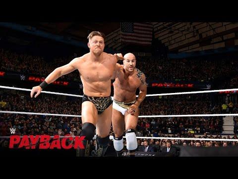 Cesaro vs. The Miz - Intercontinental...