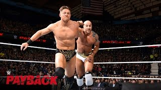 Cesaro takes The Miz for a ride in their war for the Intercontinent...