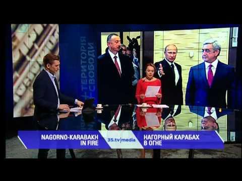 НАГОРНЫЙ КАРАБАХ В ОГНЕ. 3stv media (06-04-2016)