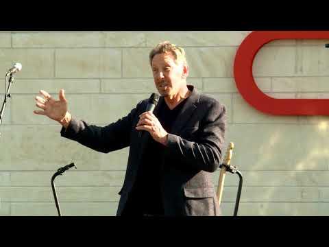 Billionaire Larry Ellison At Oracle Austin Campus