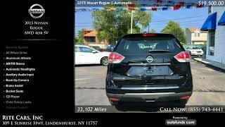 Used 2015 Nissan Rogue | Rite Cars, Inc, Lindenhurst, NY