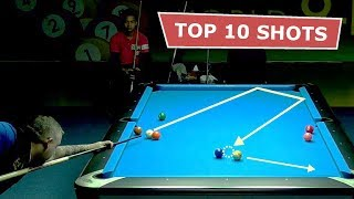 TOP 10 BEST SHOTS | World 9 Ball Pool Championship 2018