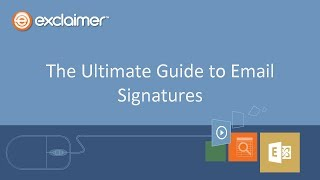 The Ultimate Guide to Email Signatures