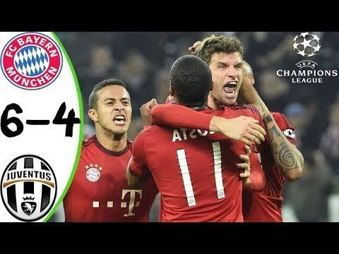 Bayern munich vs Juventus 6-4 - Full Match Highlights Quater Final