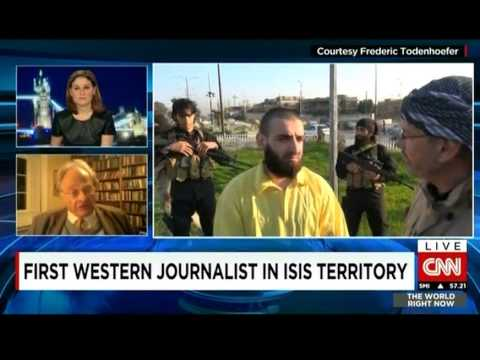 Independent's Patrick Cockburn with Hala Gorani on 1st Western Journalist interview with ISIS