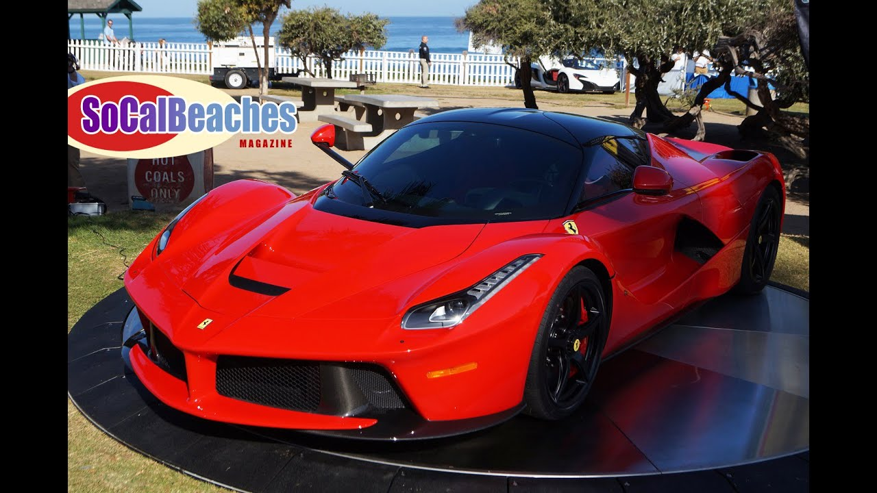 Ferrari at 2015 La Jolla Concours D Elegance Car Show - YouTube