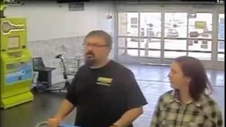 Amber Alert video: Elizabeth Thomas and Tad Cummins seen on Oklahoma Wal-Mart video