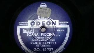 Torna Piccina - Mario Latilla