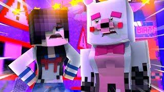 Minecraft Fnaf Daycare: Yandere Breaks Mangle?! (Minecraft Roleplay)