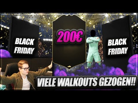 FIFA 19: OMG 200€ BLACK FRIDAY PACK OPENING! VIELE WALKOUTS 😱😱 FIFA 19 Ultimate Team (Deutsch)