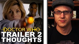 Doctor Who Series 11 - 2nd Trailer Thoughts