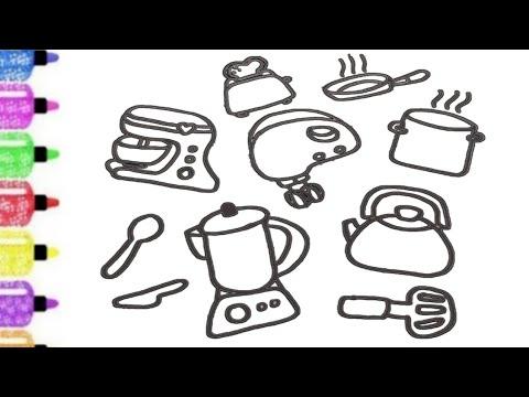 Menggambar Dan Mewarnai Ayam Warna Warni Dengan Spidol Youtube