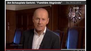 Mordfall Angelika Föger - ORF-Bericht-06.02.2014  Sendung SCHAUPLATZ GERICHT