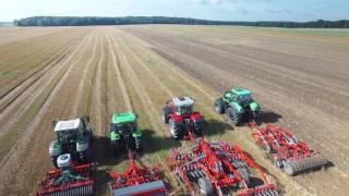 UNIA - Maszyny uprawowe w pracy - UNIA - Cultivation machinery at work