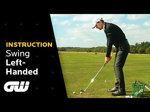 How to Swing Left-Handed! | Jeremy Dale Trick Shots | Golfing World