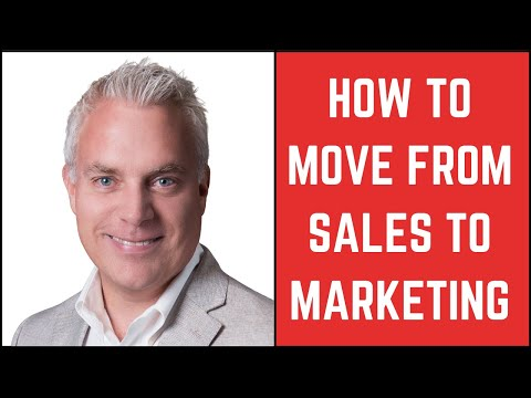 How To Move From Sales To Marketing - Darryl Praill