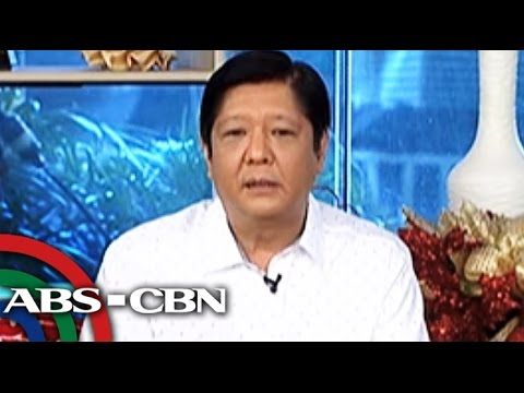 Bongbong: People talking about problems, not my surname