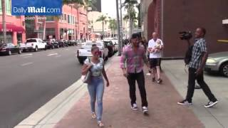 Jax Taylor and Brittany Cartwright shopping in Beverly Hills