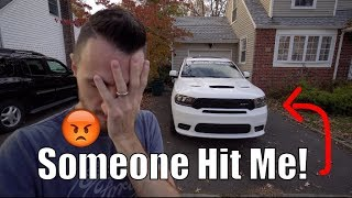 Somebody Hit The SRT Durango! OMG! | First Oil Change & Found The U Connect Problem!