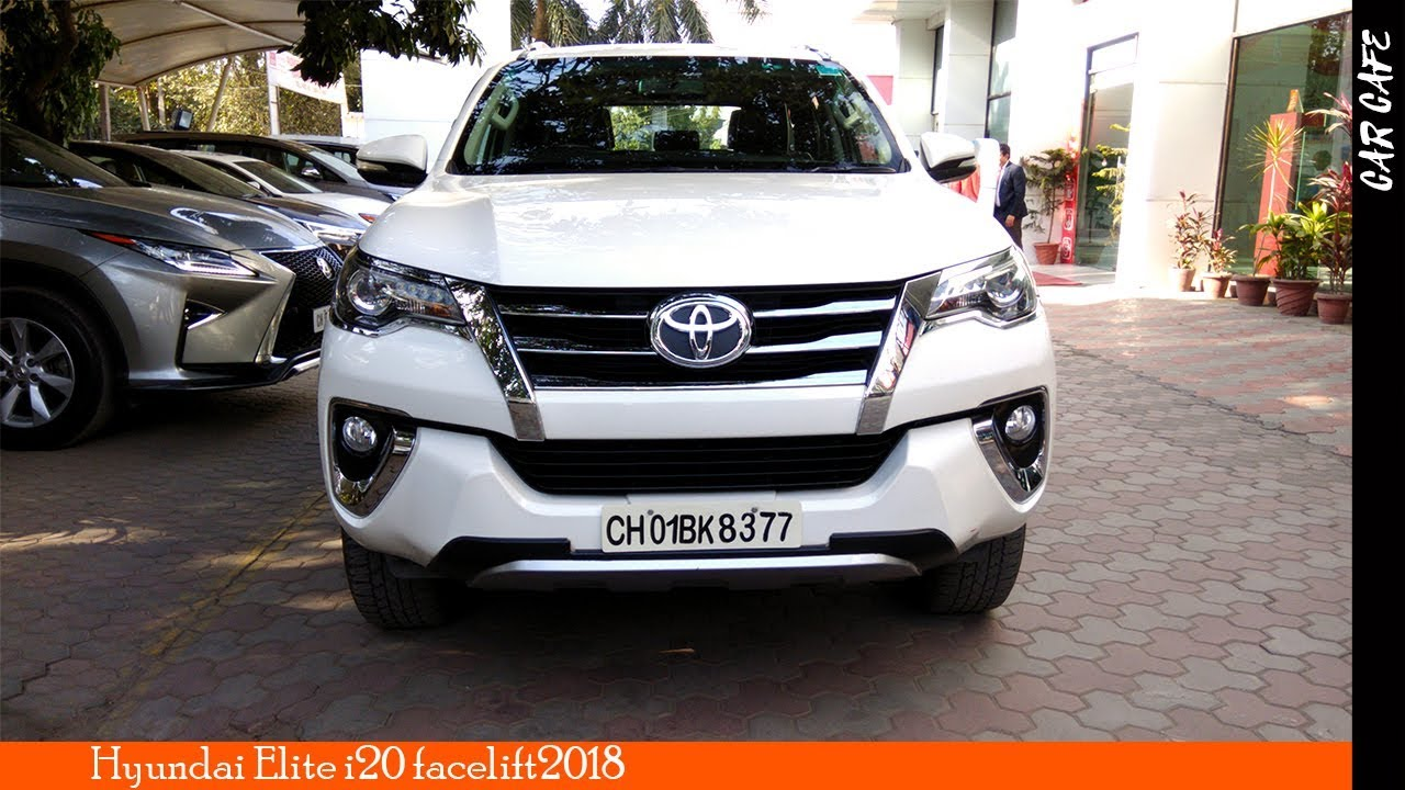 Toyota Fortuner 4x2 2018 India Review In Hindi Car Cafe Youtube