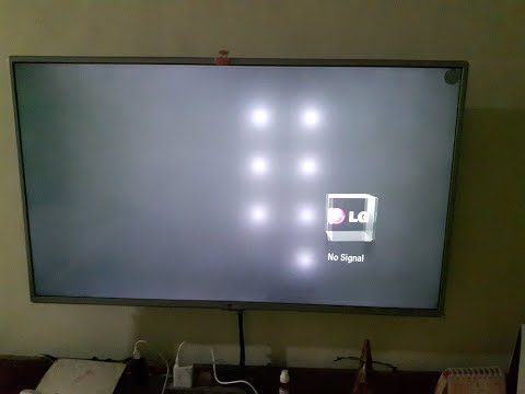White Led Lights Behind Tv
