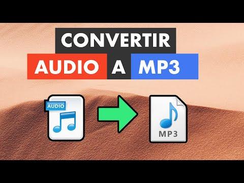 CÓMO CONVERTIR CUALQUIER AUDIO A MP3 SIN PROGRAMAS EN PC, ANDROID Y IPHONE