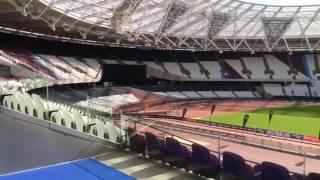 Latest Olympic Stadium Footage | INSIDE The Stadium
