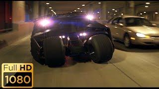 Погоня на Тумблере. Это черный танк. Бэтмен: Начало.