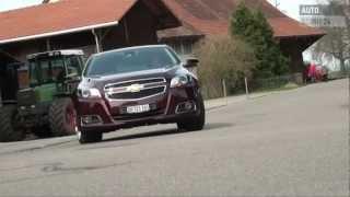 Chevrolet Malibu Testbericht - AutoScout24