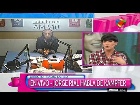 Jorge Rial habló de los rumores de romance con Agustina Kämpfer: ¡Estoy retirado!