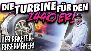 JP Performance - Die Turbine für den 1440er | Rasenmäher mit Düsenantrieb!