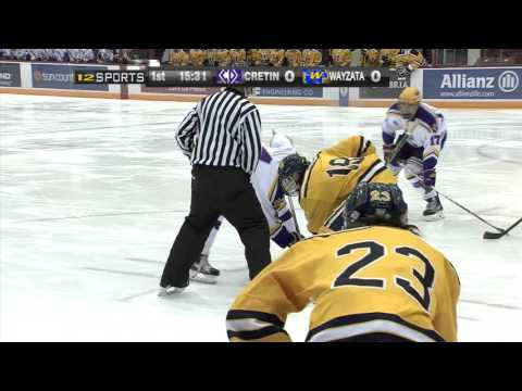 Wayzata vs. Cretin Derham Hall Boys Hockey Section Final -  February 24, 2016