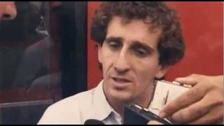 Ayrton Senna vs Alain Prost - blocking!
