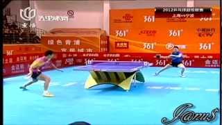 2012 China Super League: WANG Liqin - MA Long [Full Match/Short Form]