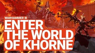 Enter the World of Khorne | Total War: WARHAMMER 3