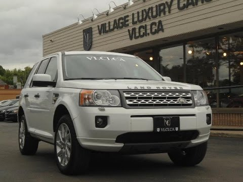 2011 Land Rover LR2 in review - Village Luxury Cars Toronto