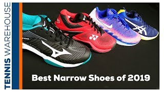 Best Narrow Tennis Shoes for You! - YouTube