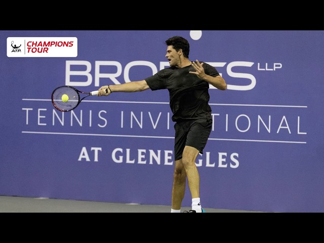 Tennis legend Mark Philippoussis: how it feels to be back playing in Scotland