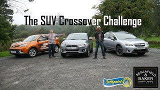 The SUV Crossover Challenge (with Nathaniel Cars)