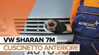 Come sostituire il cuscinetto anteriore su VW SHARAN 7M [TUTORIAL]