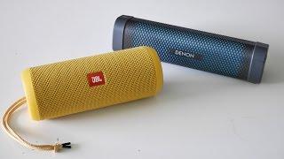JBL Flip 3 vs. Denon Envaya Mini - soundcheck