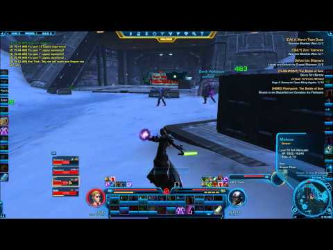 SWTOR-Hardmode Flashpoint - The Battle Of Ilum - Krel Thak (failed Attempt Due To Enrage)