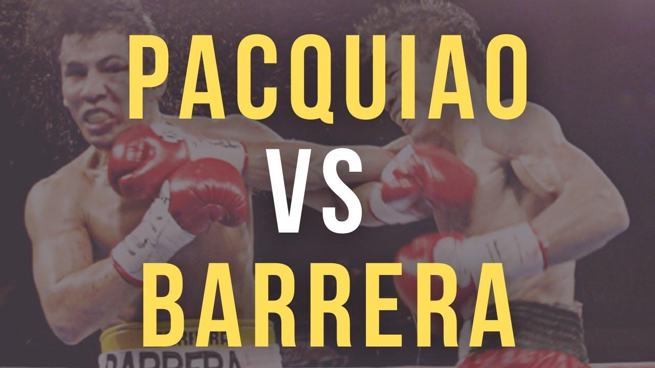 PACQUIAO vs BARRERA | November 15, 2003
