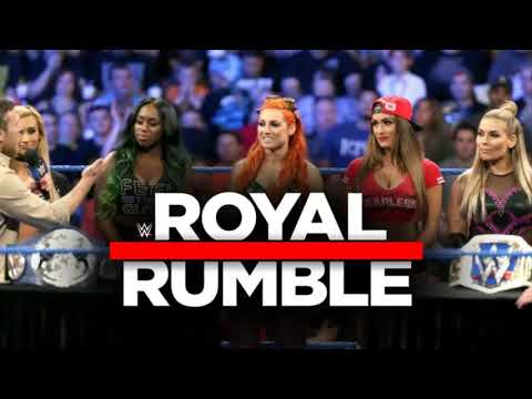 Two former WWE world champions 'set for women's Royal Rumble'