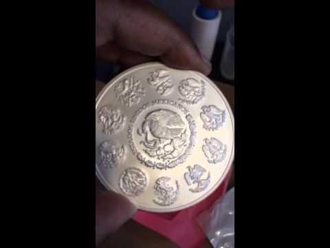 2014 5 oz Silver Mexican Libertad