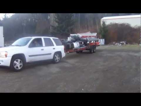 2005 TrailBlazer towing teast & 2005 TrailBlazer towing teast - YouTube